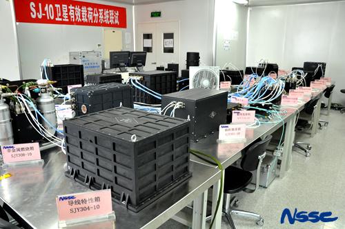 Shijian-10 Payloads - Image: NSSC