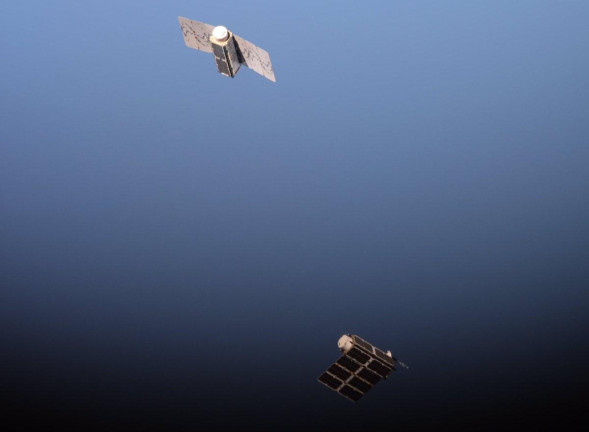 Flock 2k Soyuz 73 Satellites