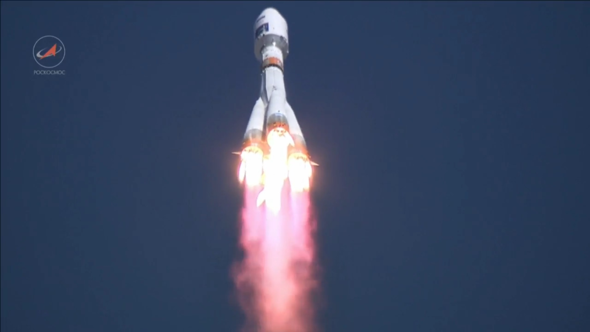 first soyuz rocket blasts off from new siberian launch