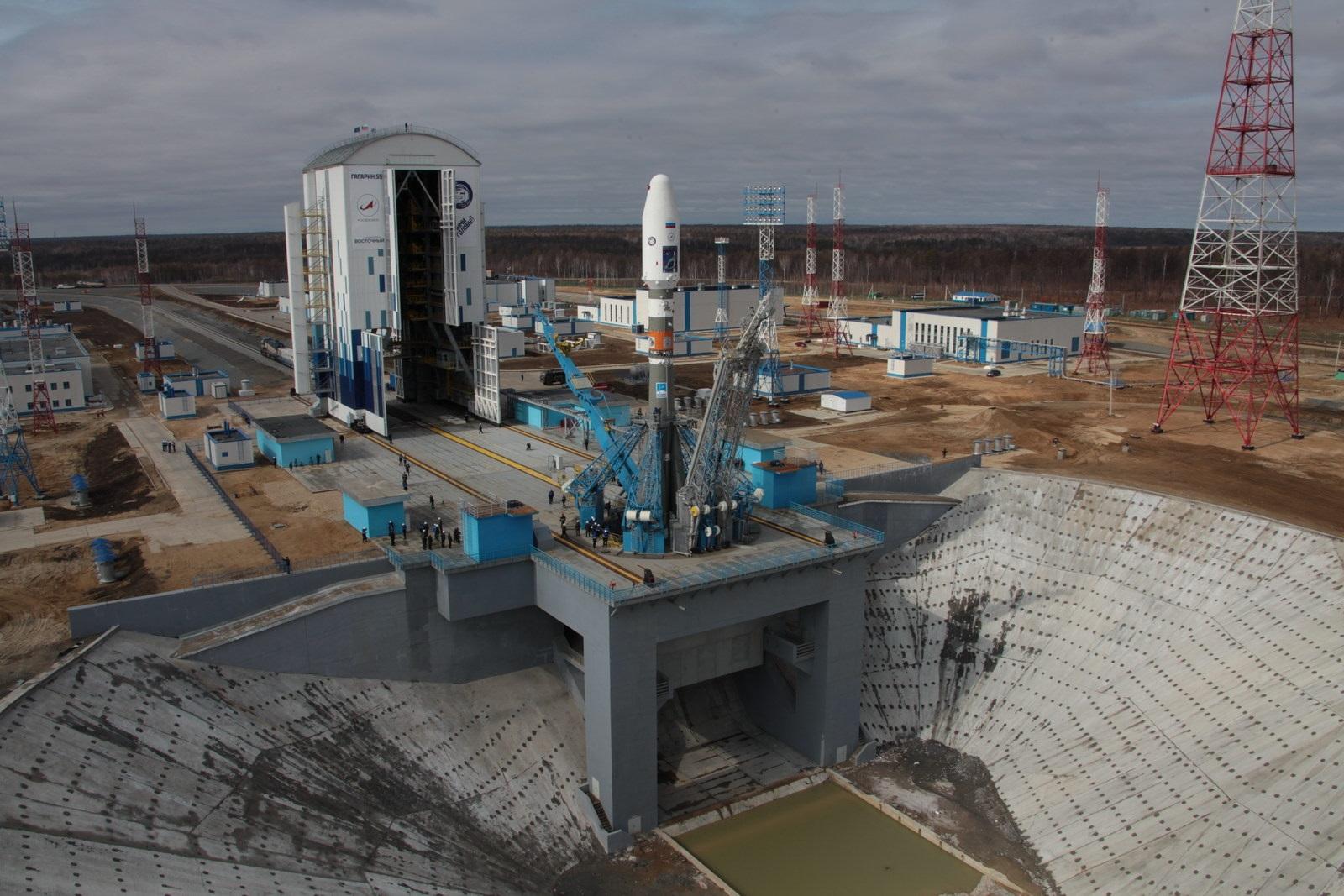 Debut Soyuz Launch From Vostochny To Lift Satellite Trio Into - Live satellite video