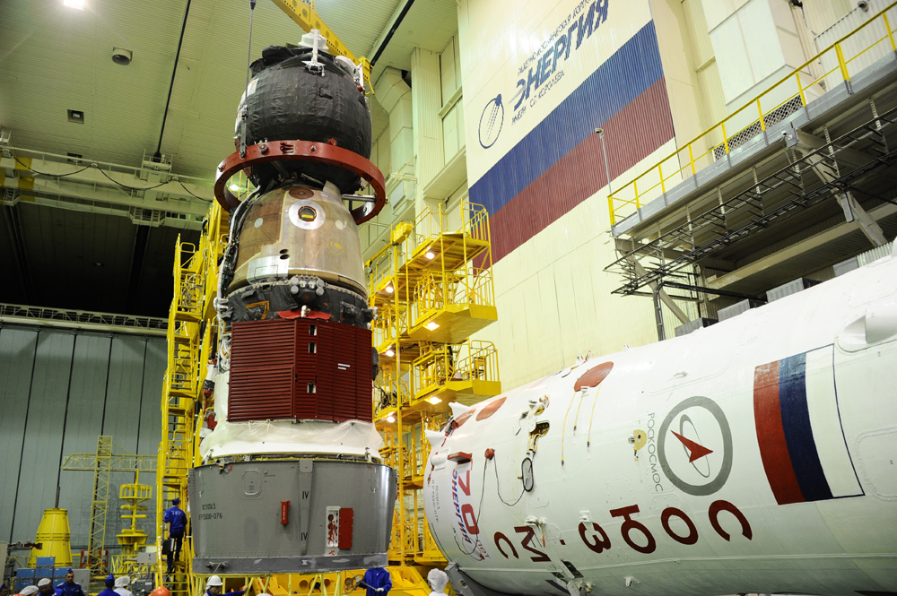 First Soyuz MS completes Processing for Launch of next ISS ...
