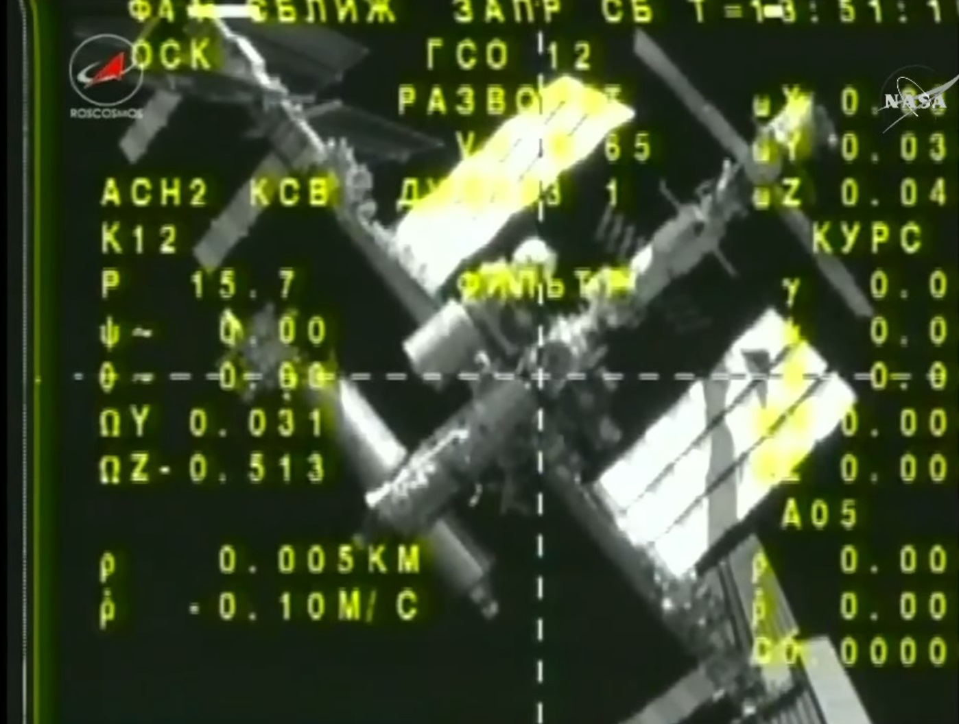 Soyuz Crew Duo Departs Space Station en-route to Friday