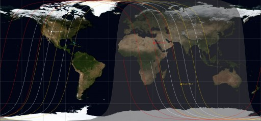 Current Orbital Setup of the Resurs-P Constellation