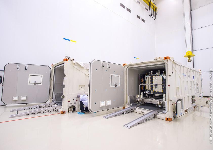 Ouverture conteneur CU1 VS13 au S1A le 02-11-2015