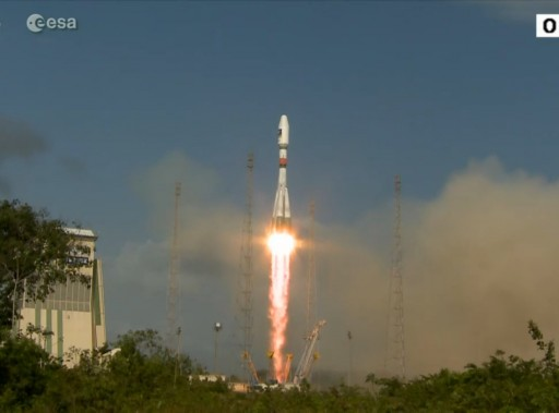 Photo: Arianespace/ESA Webcast