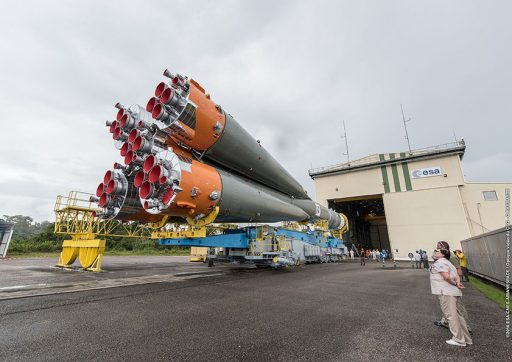 Photo: ESA/CNES/Arianespace