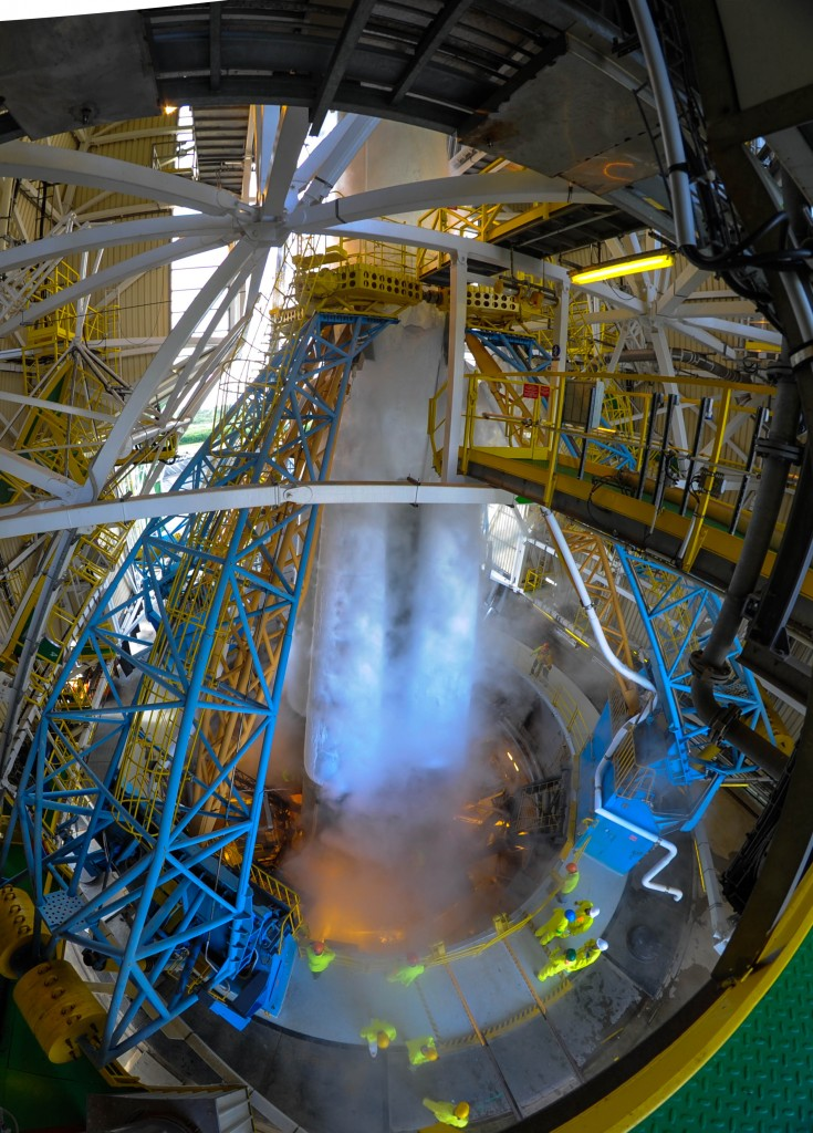 Soyuz during fueling (VS14) - Photo: ESA