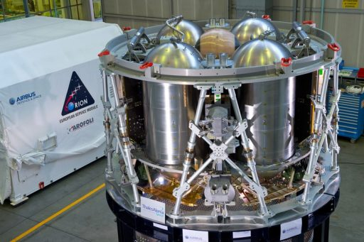 European Service Module Test Article - Photo: Airbus Defence & Space