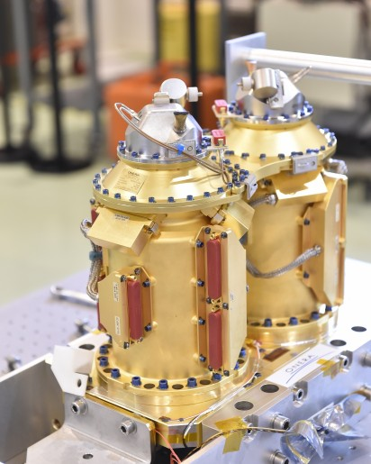 SAGE Payload Canisters - Photo: CNES