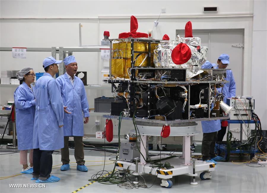 Quantum Science: Spacecraft & Satellites