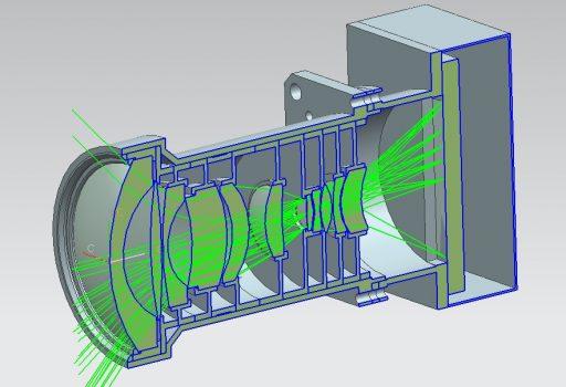 CAPI Lens Design - Image: CIOMP