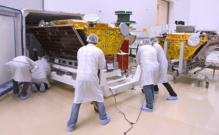 Iridium Next Spacecraft Amp Satellites