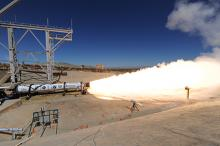 LEO-46 Test Firing - Photo: Aerojet Rocketdyne