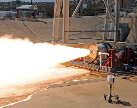 LEO-7 Test - Photo: Aerojet Rocketdyne