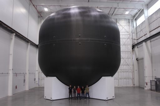 ITS LOX Tank Test Article - Photo: SpaceX