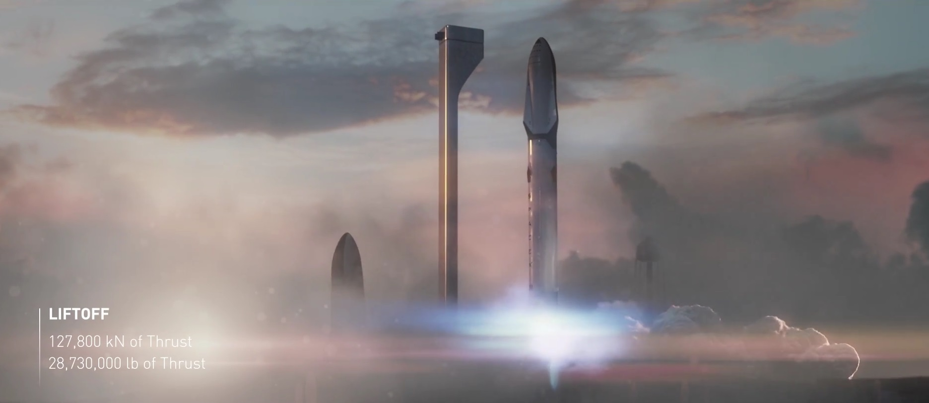 Interplanetary Transport System Booster Spacex