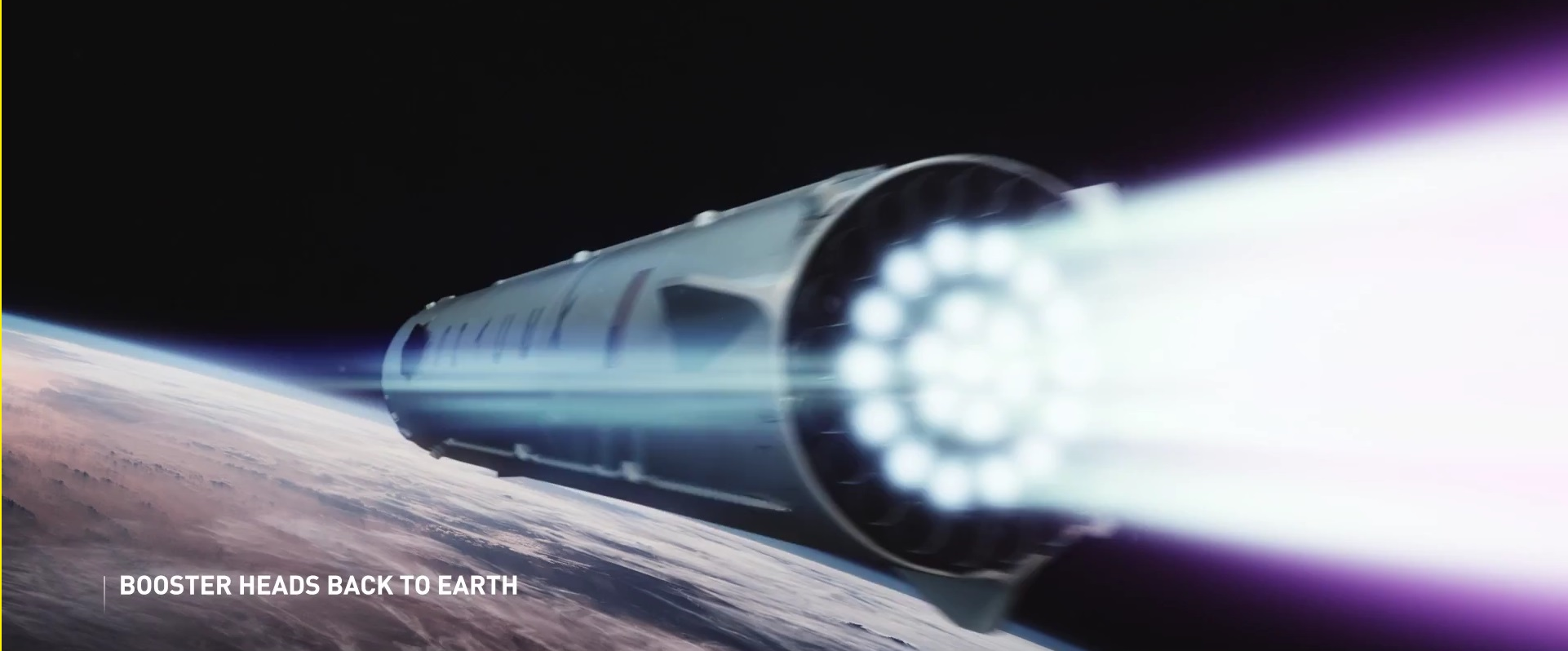 Interplanetary Transport System Booster – SpaceX
