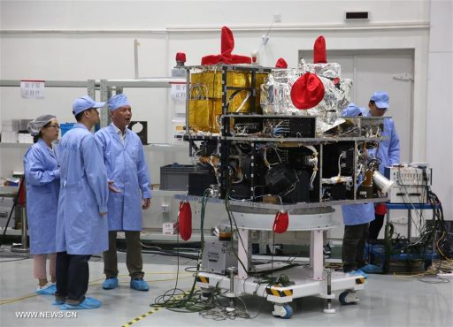 Quantum Science Satellite - Photo: Xinhua