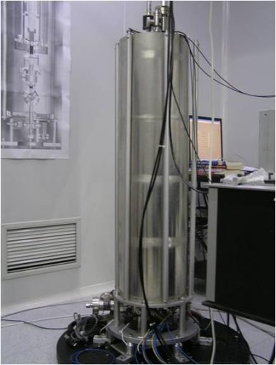 Cold Atomic Clock Prototype - Photo: China Academy of Sciences