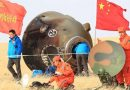 Chinese Astronaut Duo Parachutes to safe Landing after month-long Mission
