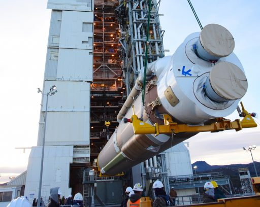 First Stage Integration - Photo: NASA