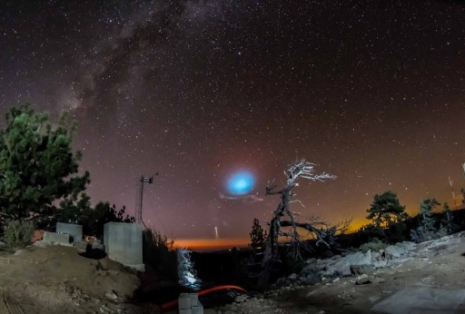 Photo: Observatorio Astronómico Nacional, Sierra de San Pedro Mártir, by M. C. Francisco Guillén & posted on Facebook by Instituto de Astronomía
