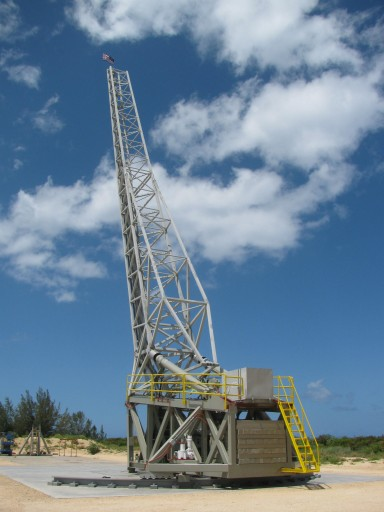 Super Strypi Rail Launcher - Photo: Hawaii Spaceflight Lab