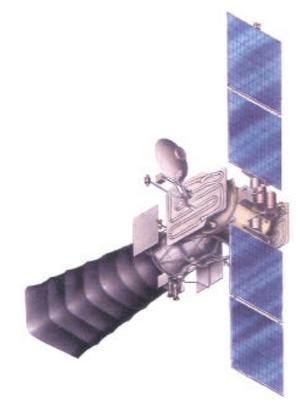 Oko Satellite - Image: Novosti Kosmonavtiki