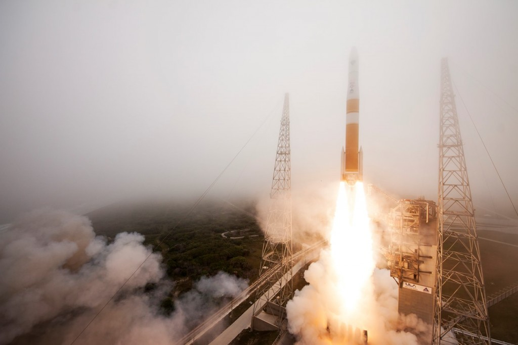 Delta IV with GPS IIF-9 - Credit: United Launch Alliance
