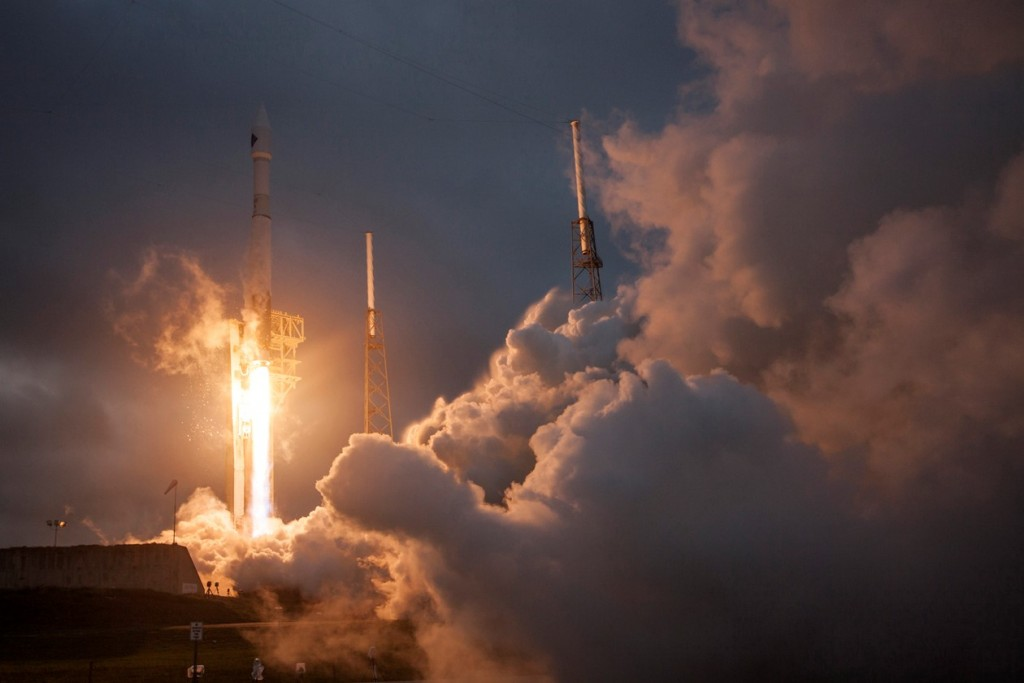 Atlas V with Cygnus OA-4 - Credit: United Launch Alliance