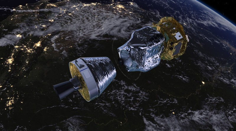 LISA_Pathfinder_in_low-Earth_orbit_A