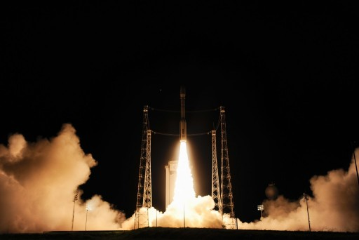 LISA Pathfinder launches atop Vega - Credit: ESA