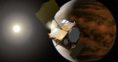 Akatsuki Venus Orbiter loses Infrared Vision after Electrical Fault