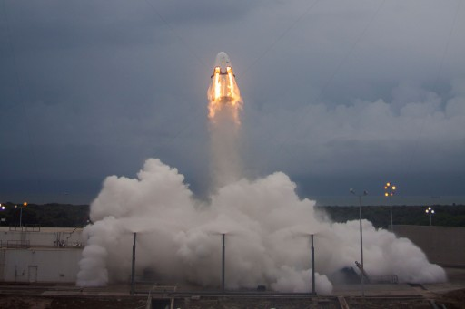 Dragon Pad Abort Test - Photo: SpaceX