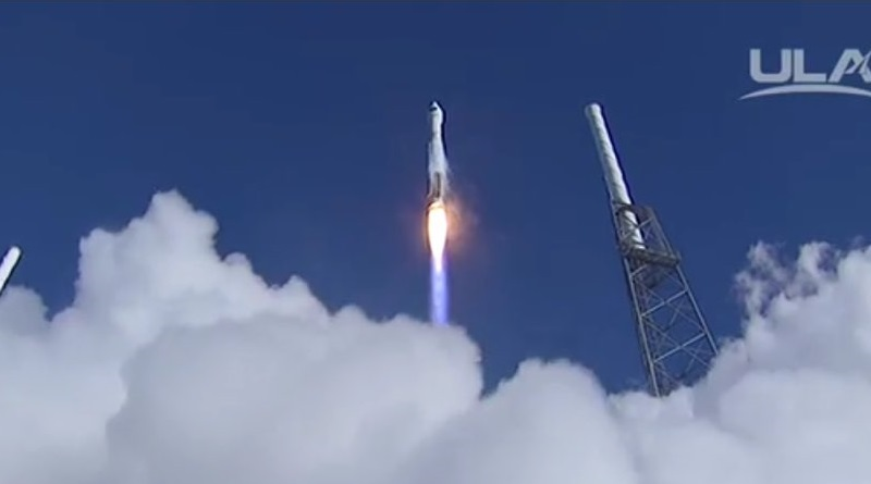 Video: Atlas V's Year-Opening Launch with GPS IIF12 Satellite