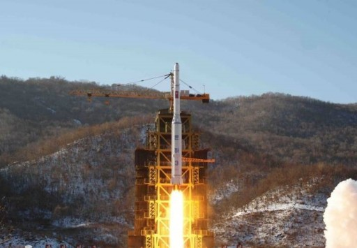 North Korea's Unha Rocket launches in December 2012, achieving the country's first successful orbital launch. - Photo: KCNA