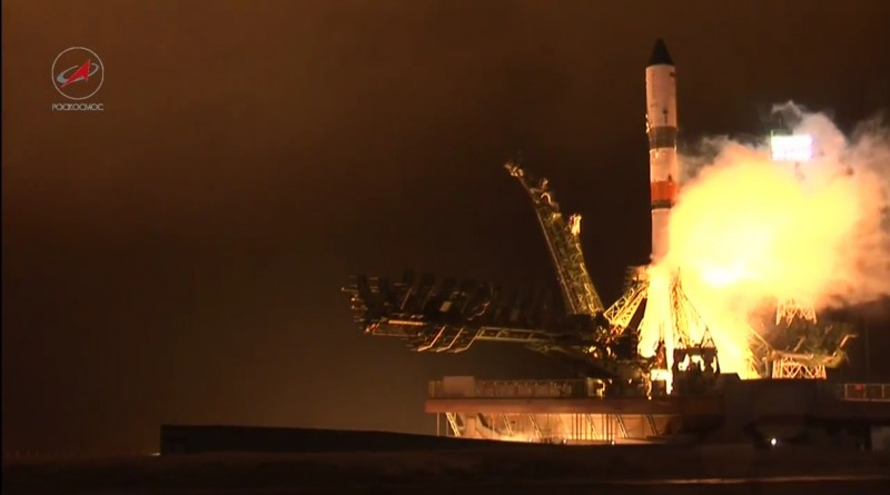 Video: Progress Cargo Ship lifts off on Soyuz Rocket
