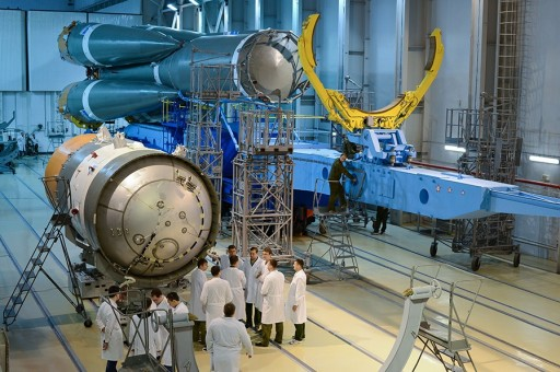 Soyuz Assembly Facility at Plesetsk - Photo: Russian Ministry of Defence (File Image)