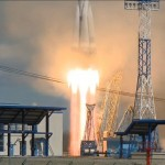 Snapshots: Soyuz lifts off from new Cosmodrome with three Multi-Function Satellites