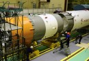 Re-Entry: Russian Rocket Stage from recent ISS Cargo Launch