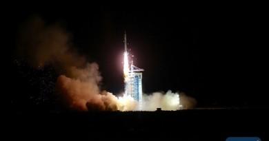 Re-Entry: Long March 2D Rocket Body