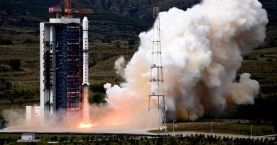 Chinese Long March 4B lofts Ziyuan-3 Earth Observer, Commercial Imaging Satellites