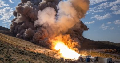Photos & Video: SLS Solid Rocket Booster fires up for final Test