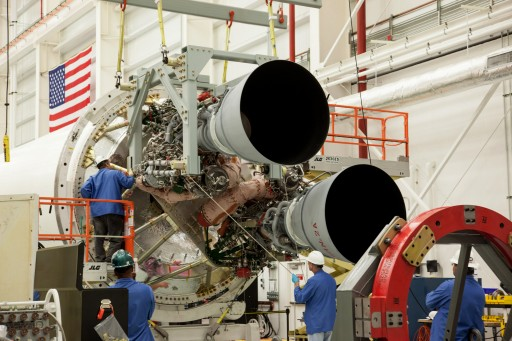 RD-181 pair on Antares' Core Stage - Photo: NASA