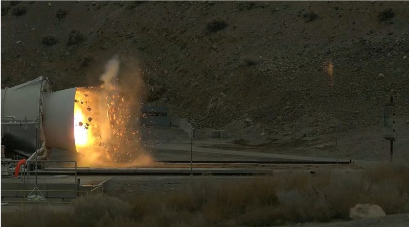 SLS Solid Rocket Booster to be fired up for Final Qualification Test