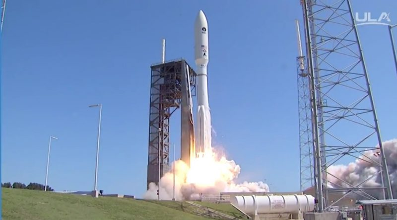 Video: MUOS 5 Communications Satellite blasts off atop Atlas V