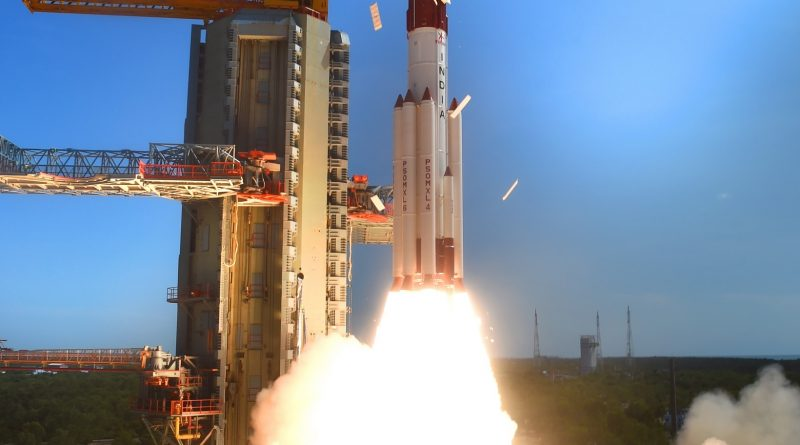 Photos: India's PSLV takes Flight with 20 Satellites on Board