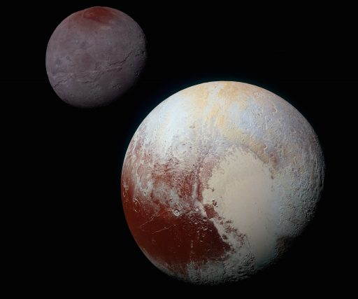 Pluto & Charon seen by New Horizons - Credit: NASA/JHUAPL/SwRI