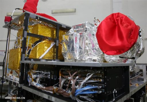 Micius Payload Section - Photo: Xinhua