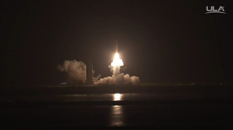 Video: Delta IV lifts off with small-sized Orbital Informant Satellites